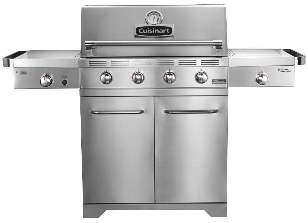 Barbecues Cuisinart Gourmet Infrarood BQ900BE XL