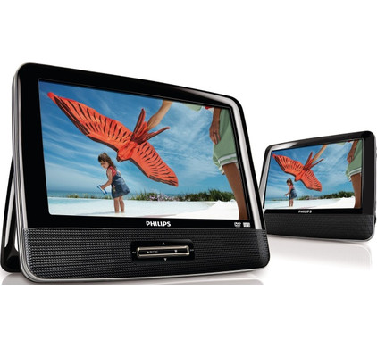 Philips PD9122 Dual Screen Portable DVD