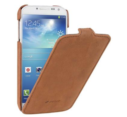 Melkco Leather Case Samsung Galaxy S4 Vintage Brown