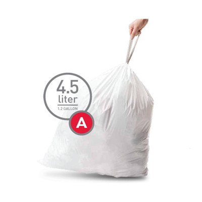 Image of Simplehuman Afvalzak Code A - 4,5 Liter (30 stuks)