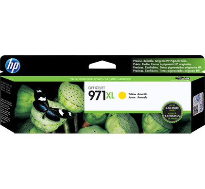 HP 971XL Yellow Ink Cartridge (CN628AM)