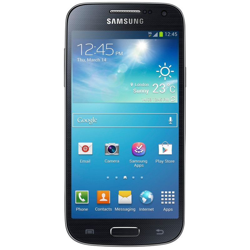 Samsung Galaxy S4 Mini VE Zwart