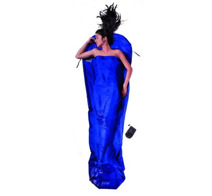 Cocoon Silk MummyLiner Ultramarine Blue