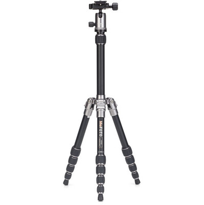 MeFOTO BackPacker Travel Tripod Kit titanium