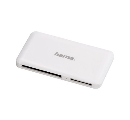 Hama USB 3.0 Multi Kaartlezer Wit