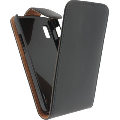 Xccess Leather Flip Case LG Nexus 4 Black