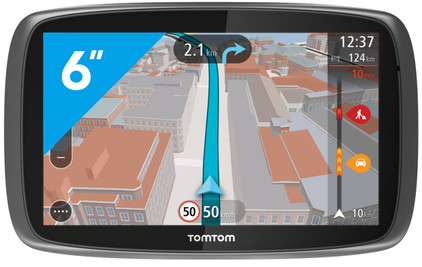 tomtom go 6100 world coolblue. Black Bedroom Furniture Sets. Home Design Ideas