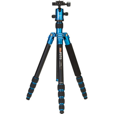 MeFOTO RoadTrip Travel Tripod Kit blauw