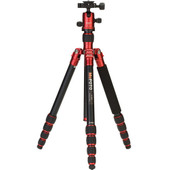 MeFOTO RoadTrip Travel Tripod Kit rood