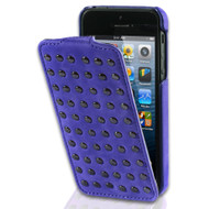 Decoded Flip Case With Studs Apple iPhone 4/4S Purple