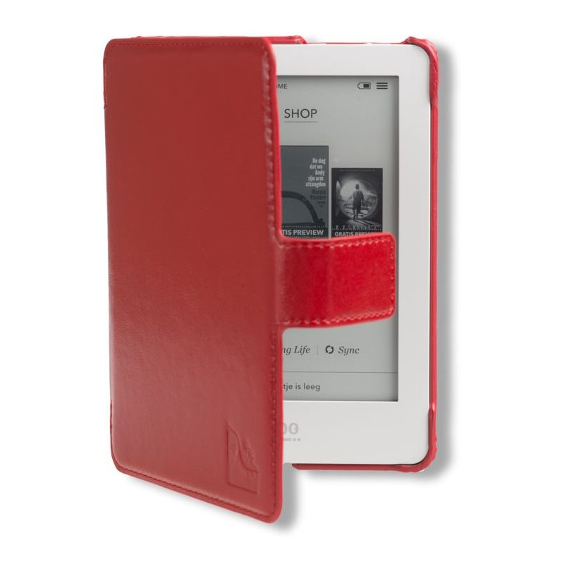 Gecko Covers Slimfit Case Kobo Glo Red