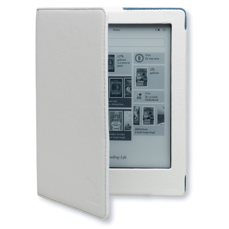 Gecko Covers Luxe Case Kobo Aura Hd White