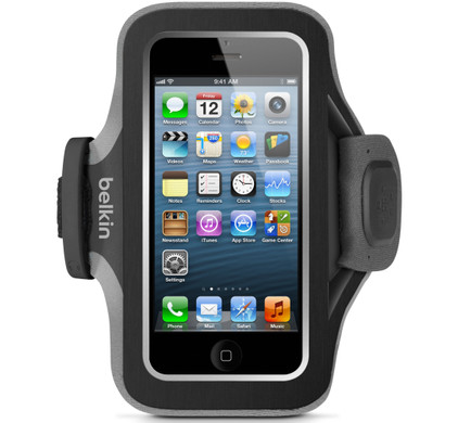 Belkin SlimFit Sport Armband Apple iPhone 5/5S/SE Black