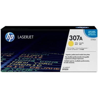 HP 307A LaserJet Toner Geel (CE742A)