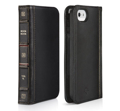 Twelve South BookBook Apple iPhone 5/5S/SE Classic Black