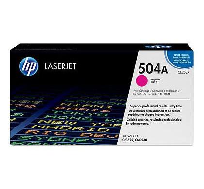 HP 504A LaserJet Toner Magenta (CE253A)