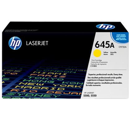 HP 645A LaserJet Toner Geel (C9732A)