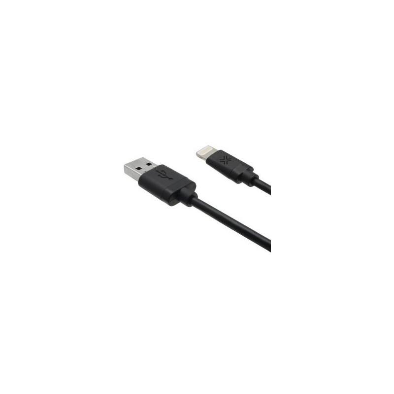 Lenmar Apple Lightning Naar Usb Zwart 1 8mtr
