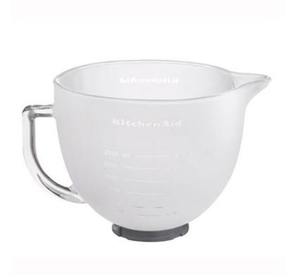 KitchenAid 5K5FGB Melkglazen kom (4,83 Liter)