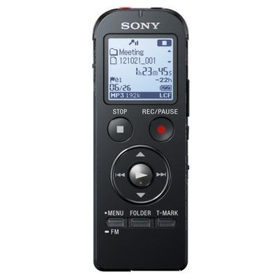 Sony ICD-UX533 Zwart