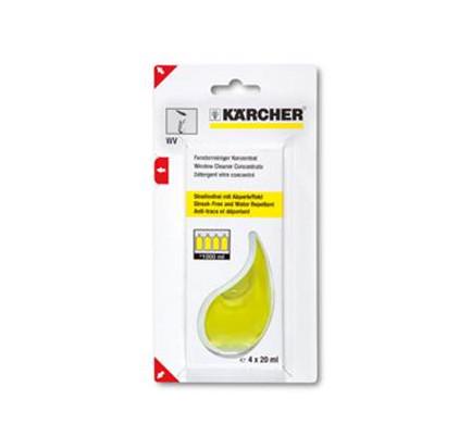Karcher Nettoyant vitres 4 x 20 ml