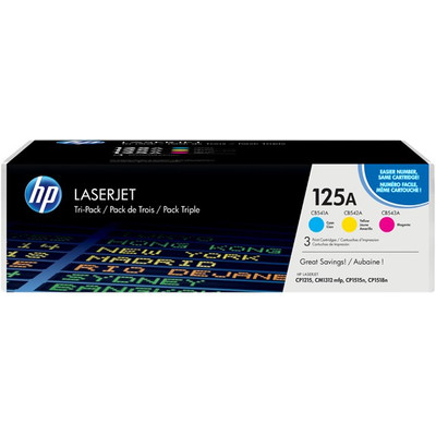 Image of 125A LaserJet tonercartridge, 3-pack (CF373M)
