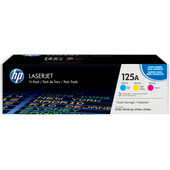 HP 125A LaserJet Toner Tri-pack (CF373AM)