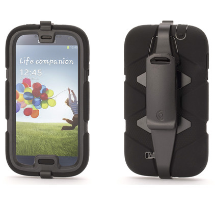 Griffin Survivor Case Samsung Galaxy S4 Zwart