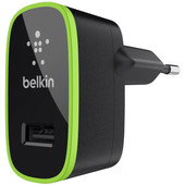 Belkin Thuislader USB 2,1A Green Ring Black