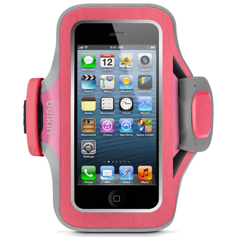 Belkin SlimFit Sport Armband Apple iPhone 5 / 5S / 5C Pink