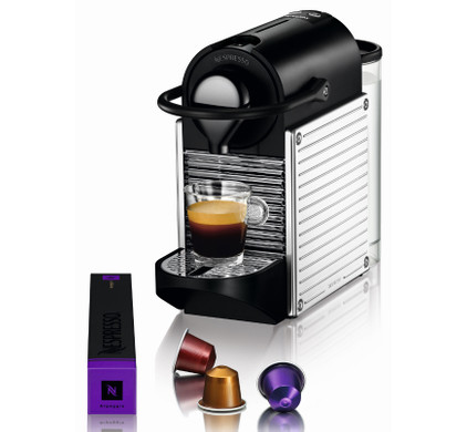 krups nespresso pixie stainless steel xn300d. Black Bedroom Furniture Sets. Home Design Ideas