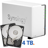 Synology DS214se 4 TB