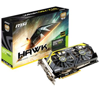 MSI N760 Hawk