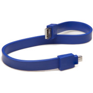 TYLT Syncable MicroUSB Cable Blue
