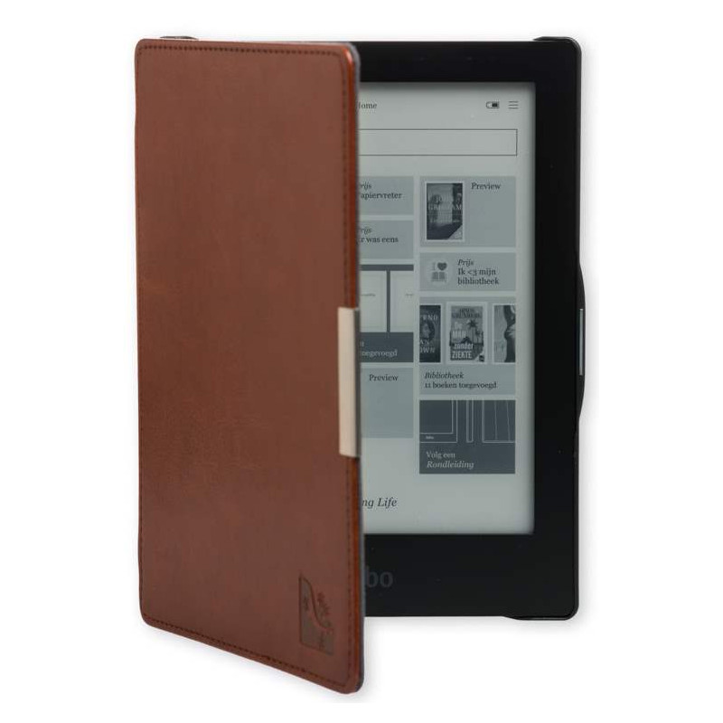 Gecko Covers Slimfit Case Kobo Aura Hd Brown