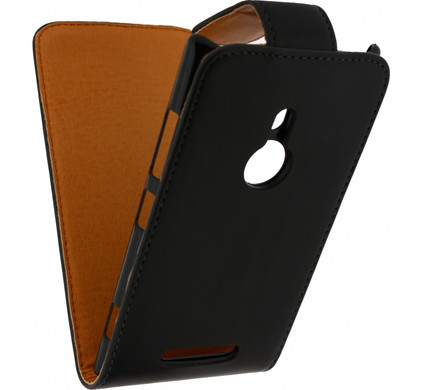 Xccess Leather Flip Case Nokia lumia 925 Zwart