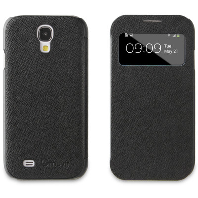 Muvit Folio Window Case Samsung Galaxy S4 Black
