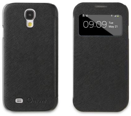 Muvit Folio Window Case Samsung Galaxy S4 Zwart