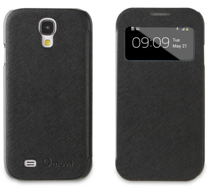 Muvit Folio Window Case Samsung Galaxy S4 Zwart