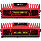 Corsair Vengeance 8 GB DIMM DDR3-1600 CL 9 rood
