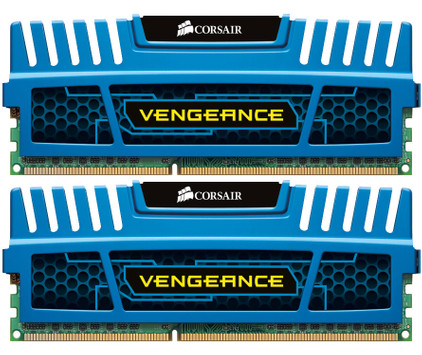 Corsair Vengeance 8 GB DIMM DDR3-1600 CL 9 blauw