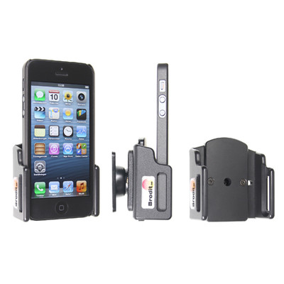 Brodit Passive Holder iPhone 5 / 5S w Skin verstelbaar 59-63/6-10