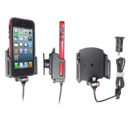 Brodit Active Holder iPhone 5 / 5S w Skin verstelbaar 62-77/6-10