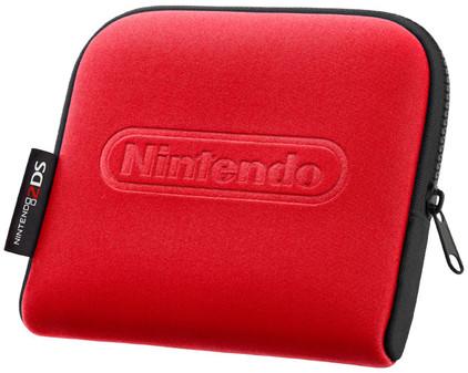 Nintendo 2DS Etui Rood