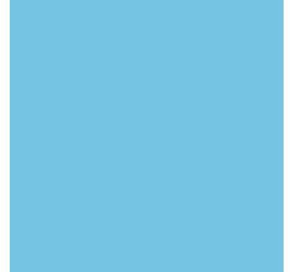Falcon Eyes Achtergrondpapier 275 Sky Blue
