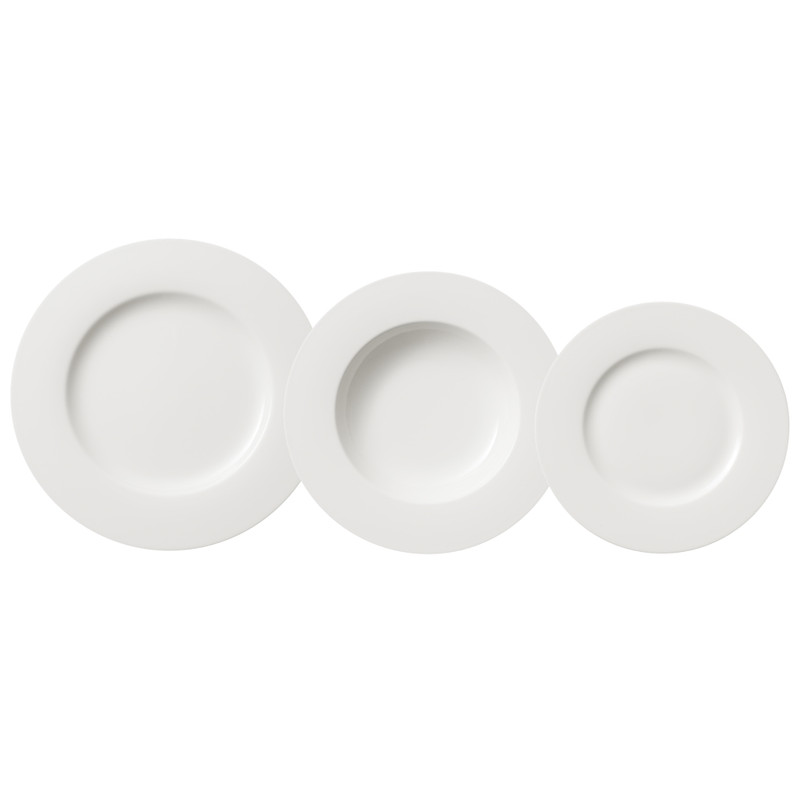 VilleroyandBoch Twist White Bordenset 12-delig