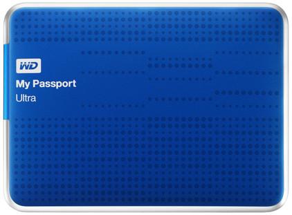 WD My Passport Ultra 1 TB Blauw