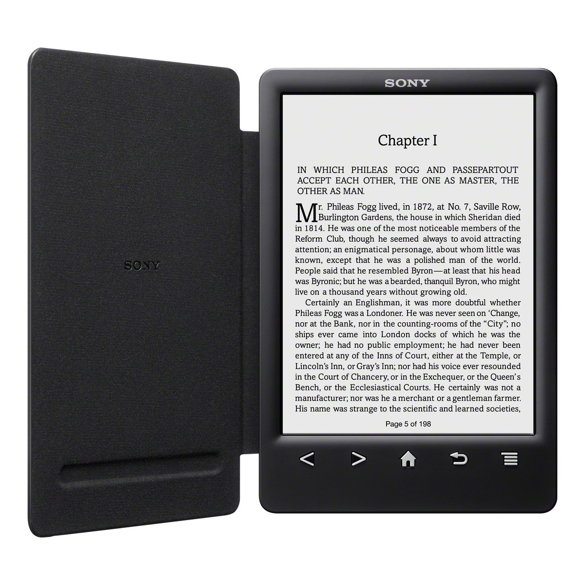 Sony Reader Touch PRS-T3 Black + Cover