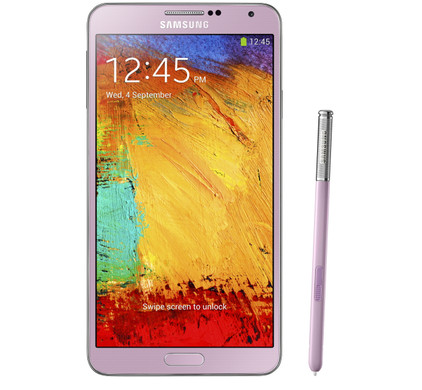 Samsung Galaxy Note 3 Roze