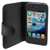 Artwizz SeeJacket Leather iPhone 4/4S Black